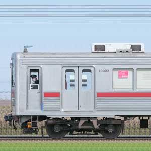 東武10000型11003編成(山側)
