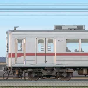 東武10030型11031編成(海側)