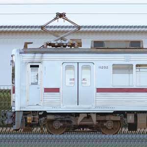 東武10000型11202編成(海側)