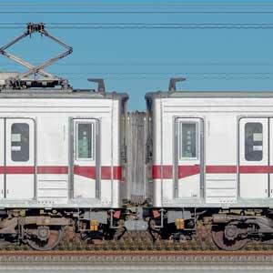東武鉄道10030型11263編成+11265編成(山側)