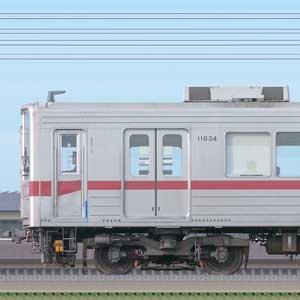 東武10030型11634編成(海側)