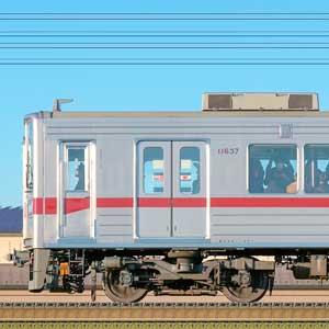 東武10030型(リニューアル車)11637編成(海側)