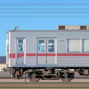東武10030型11661編成(海側)