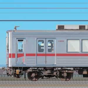 東武10030型11666編成(海側)