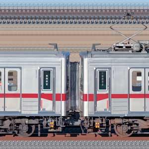 東武鉄道10030型11260編成+11265編成(海側)