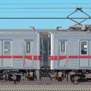 東武鉄道10030型11434編成+11263編成(海側)