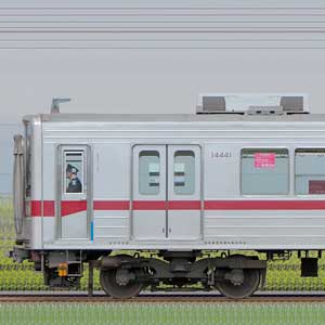 東武10030型11661編成(山側)