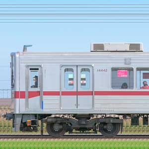 東武10030型(リニューアル車)11637編成(山側)