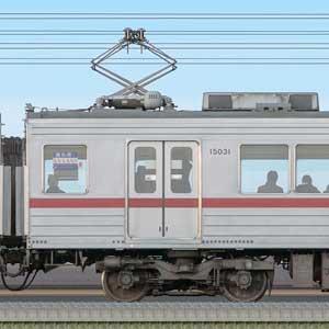 東武10030型モハ15031