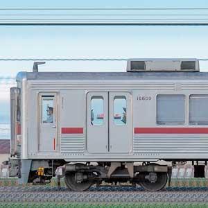 東武10000型11609編成(リニューアル車・山側)