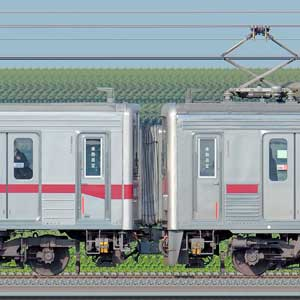東武10030型11666編成+10000型11204編成(海側)