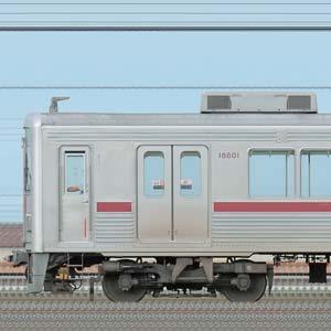東武10000型11801編成(リニューアル車・山側)