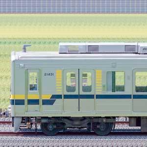 東武20400型21431編成(海側)