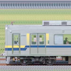 東武20400型21441編成(海側)