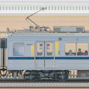 東武20400型モハ22411(安全確認カメラ取付前)