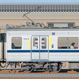 東武20400型モハ22412