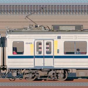 東武20400型モハ22422