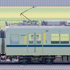 東武20400型モハ22431