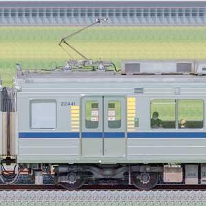 東武20400型モハ22441