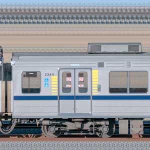 東武20400型モハ23411(安全確認カメラ取付後)