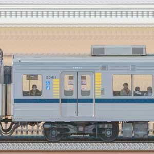 東武20400型モハ23411(安全確認カメラ取付前)