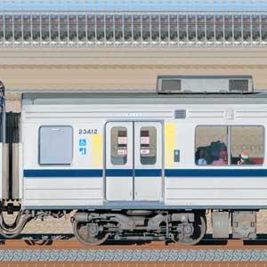 東武20400型モハ23412