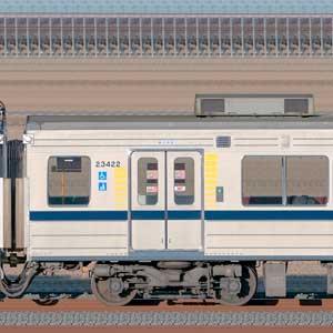 東武20400型モハ23422