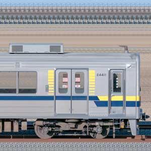 東武20400型クハ24411(安全確認カメラ取付後)