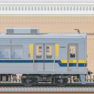 東武20400型クハ24411(安全確認カメラ取付前)