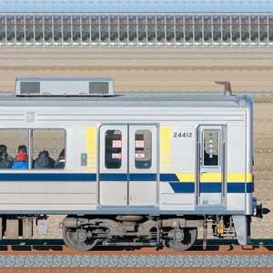 東武20400型クハ24412