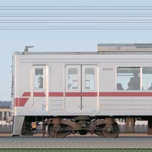東武30000系31602編成(海側)