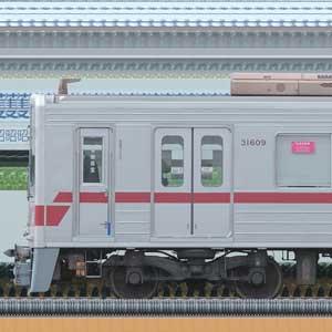 東武30000系31609編成+31409編成(海側)