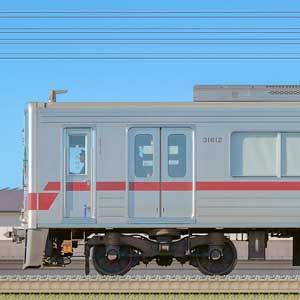 東武30000系31612編成(海側)