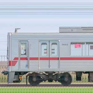東武30000系31612編成(山側)