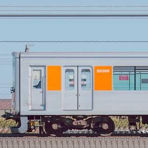 東武50000型51008編成(スカイツリーライン転属後・山側)
