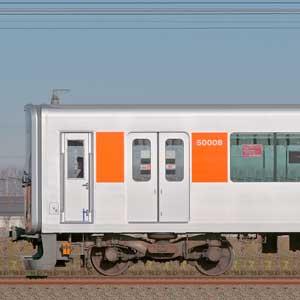 東武50000型51008編成(東上線・山側)