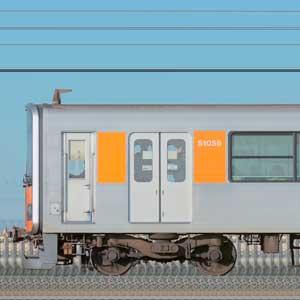 東武50050型51055編成(海側)