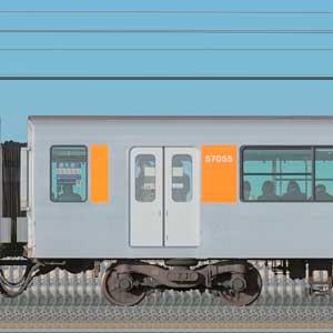 東武50050型サハ57055