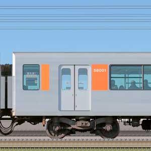 東武50000型モハ58001