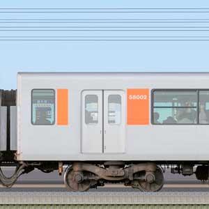 東武50000型モハ58002