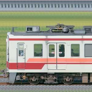 東武6050型6153編成+会津6050系61201編成(海側)