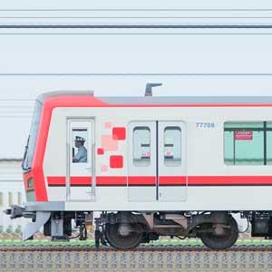 東武70000型71708編成(山側)