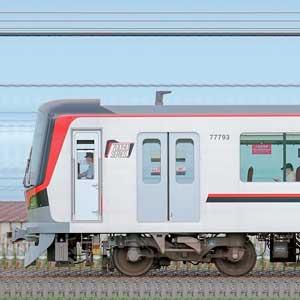 東武70090型「THライナー」71793編成(山側)