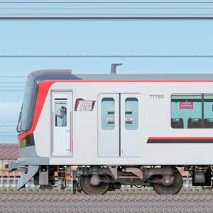 東武70090型71793編成(山側)