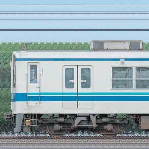 東武8000系8572編成(海側)