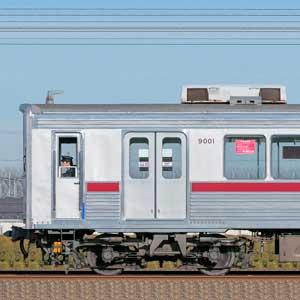 東武9000型9101編成(山側)