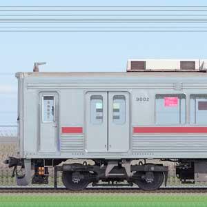 東武9000型9102編成(山側)