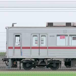 東武9000型9108編成(山側)