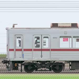 東武9050型9151編成(山側)