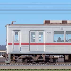 東武9000型9108編成(海側)